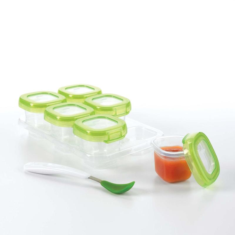 Oxo Tot Baby Blocks Freezer Storage Containers 2 oz OxoTotPH