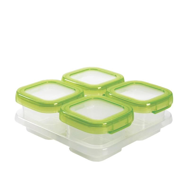 Oxo Tot Baby Blocks Freezer Storage Containers 4oz