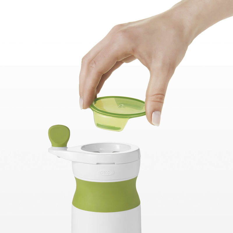 Oxo Tot Baby Food Mill With Silicon Feeding Spoon Set
