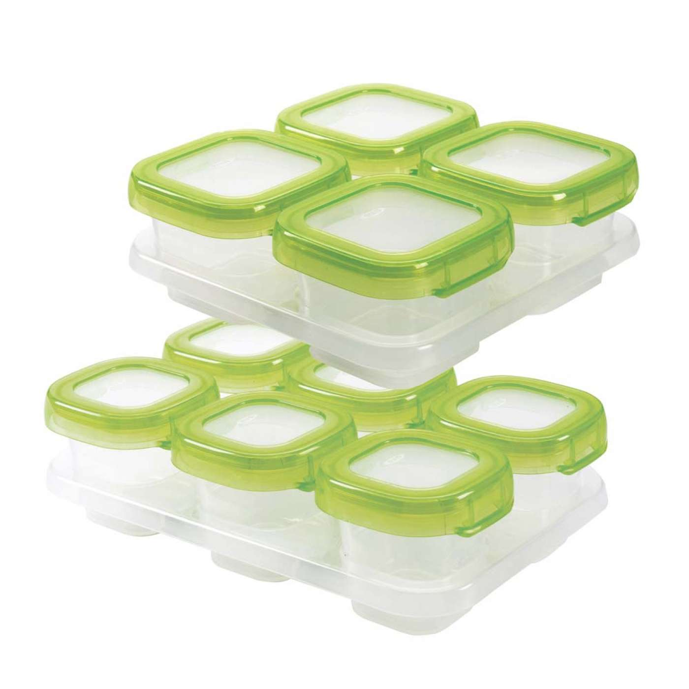 Oxo Tot Baby Blocks Freezer Storage Containers 12 Piece Promo Pack
