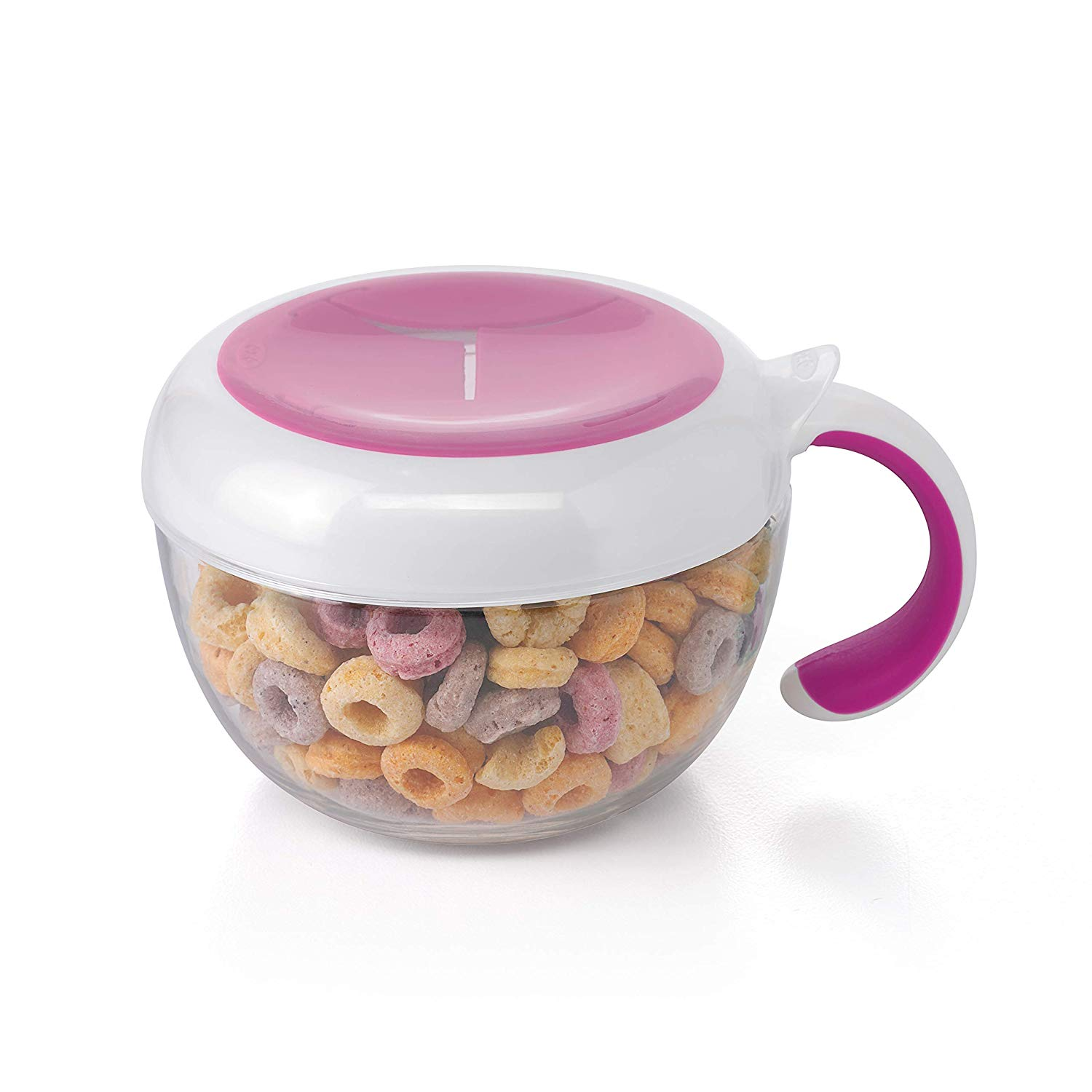 Teal OXO Tot Flippy Snack Cup with Travel Lid